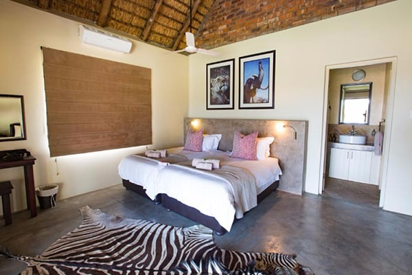 Senalala Luxury Safari Camp Twin Beds
