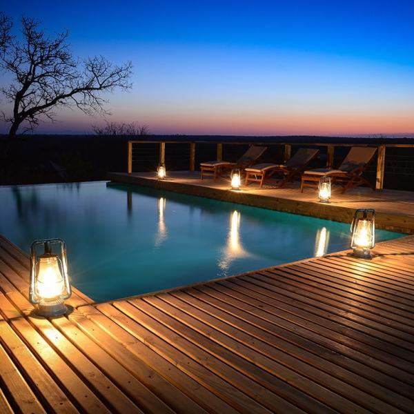 Simbavati Hilltop Lodge Pool