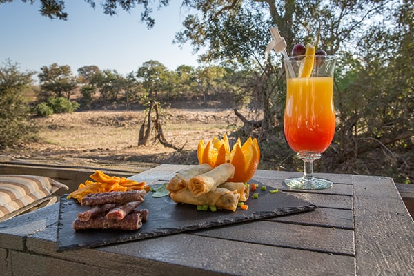 Simbavati River Lodge Drinks
