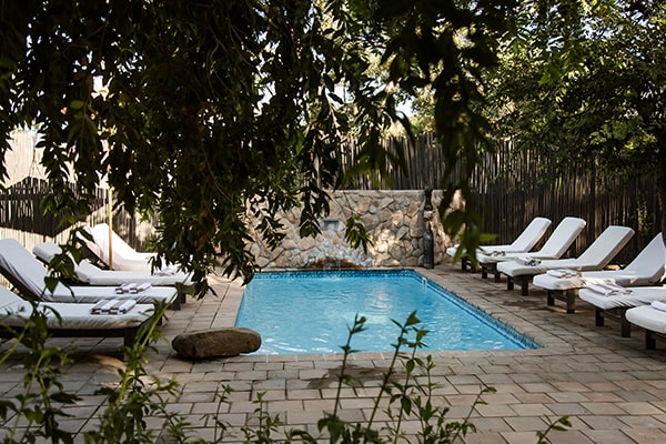 Simbavati River Lodge Pool