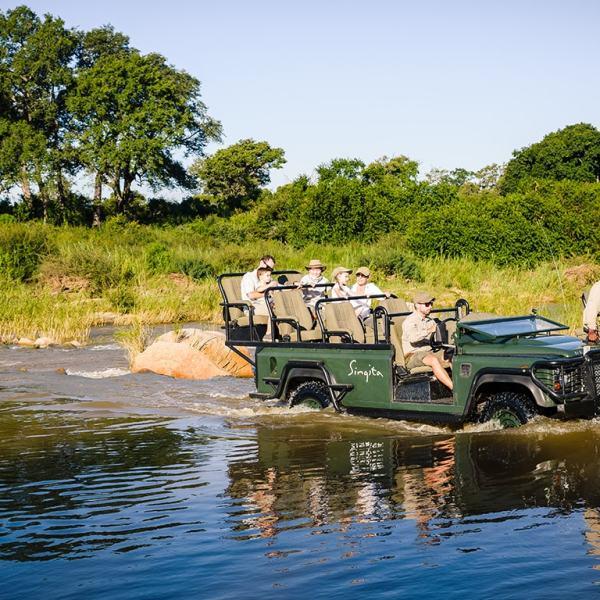 Singita Boulders Lodge Game Drive Safari