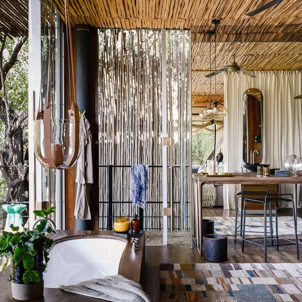 Singita Sweni Lodge Bathroom