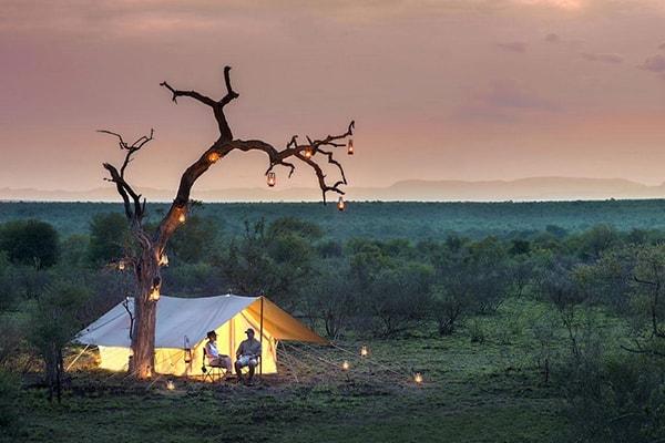 Tanda Tula Safari Camp Tent Exterior