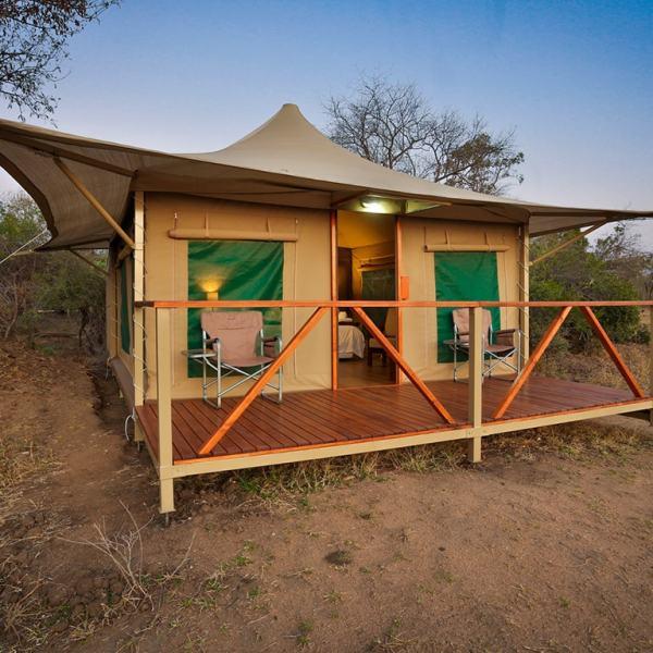Tangala Safari Camp Safari Tent Exterior