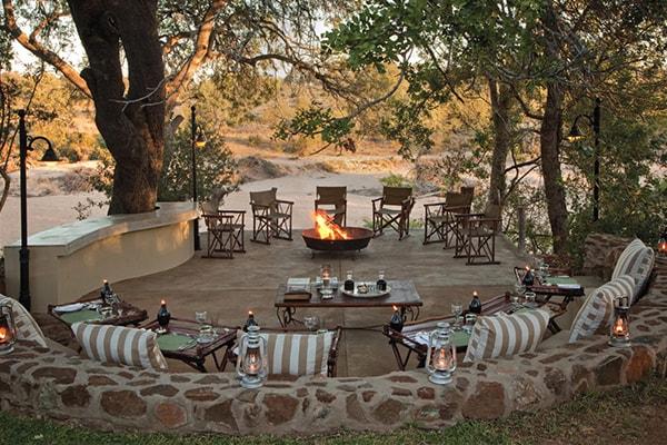 Waterbuck Private Camp Boma Campfire
