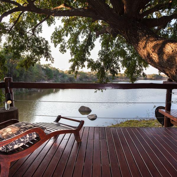 Waterside Lodge Deck