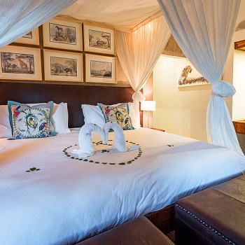 Amani Safari Camp Luxurious Rooms