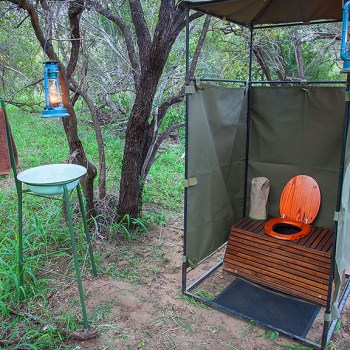 Bateleur Mobile Camp Lavish Longdrop