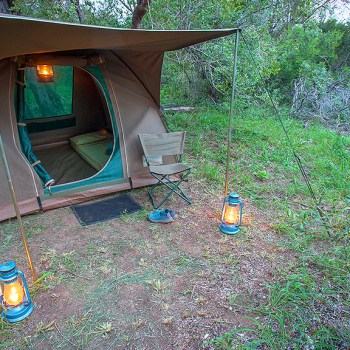Bateleur Mobile Camp Tent Exterior