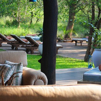 Chapungu Luxury Tented Camp  View From Deck