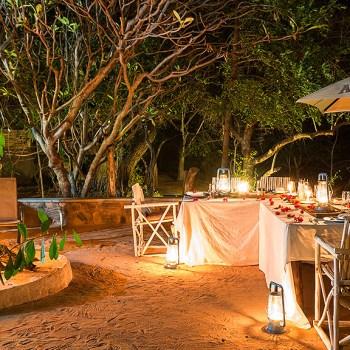 Ezulwini Resorts Outdoor Dining Area