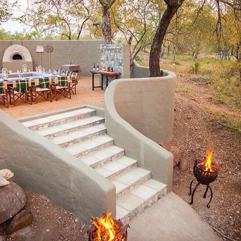 Garonga Safari Camp Outdoor Dining Area