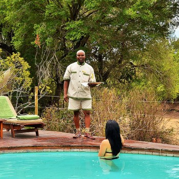 Hamiltons Tented Camp Pool Area
