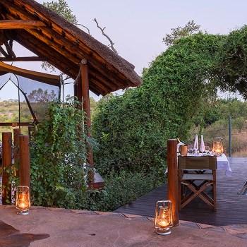 Jock Safari Lodge Deck Area