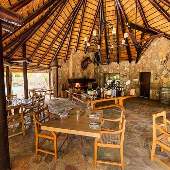 Kapama Buffalo Camp Dining Boma