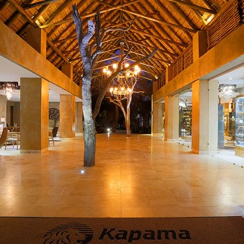 Kapama Southern Camp Main Entrance