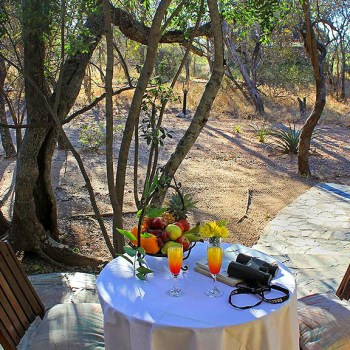 KwaMbili Game Lodge Outdoor Seating Area