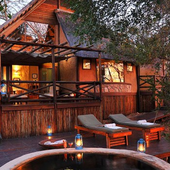 Lukimbi Safari Lodge Accommodation Exterior