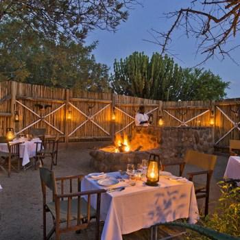 Motswari Geigers Camp Boma Dining