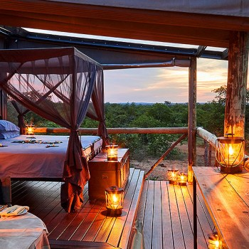 Motswari Private Game Reserve Outdoor Sleeping