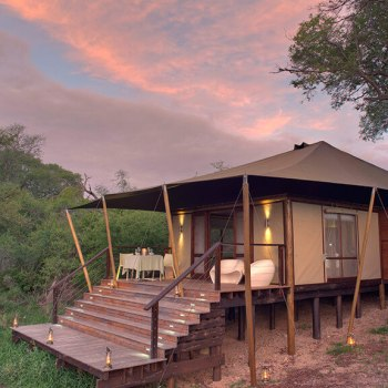 Ngala Tented Camp Suite Exterior