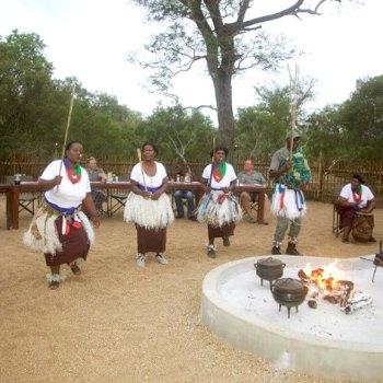 Nkambeni Safari Camp Traditional Dancers