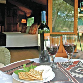 Nkelenga Tented Camp Dining