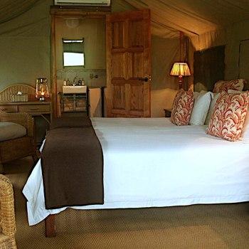 Nkelenga Tented Camp Tent Interior