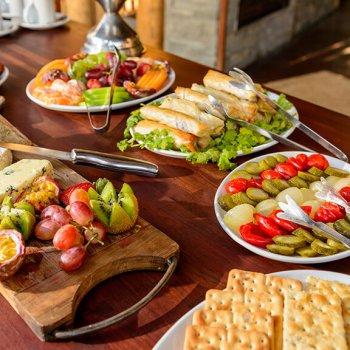 Rhino Post Safari Lodge Dining