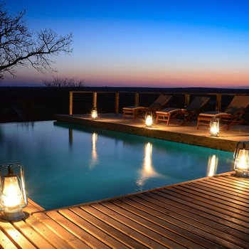Simbavati Hilltop Lodge Pool