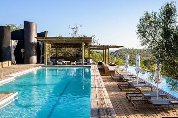 Singita Lebombo Lodge Pool Deck