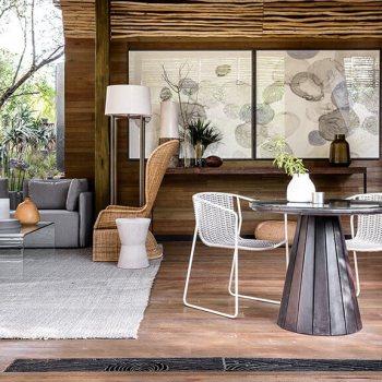 Singita Lebombo Lodge Villa Lounge Area