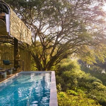 Singita Sweni Lodge Riverside Pool