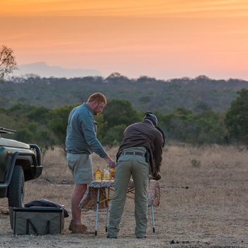 The River Lodge Game Drive Sundowners