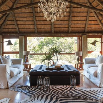 Waterbuck Private Camp Master Suite Lounge