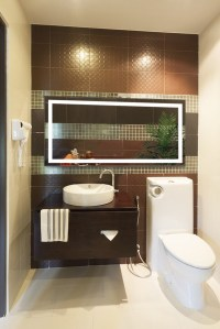 Large 60 Inch X 30 Inch LED Bathroom Mirror Lighted Vanity