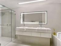 Large 60 Inch X 30 Inch LED Bathroom Mirror Lighted Vanity ...