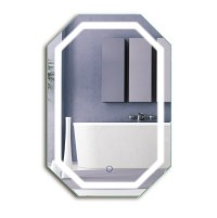 LED Octagon 20X30 Bathroom Mirror Lighted Mirror ...