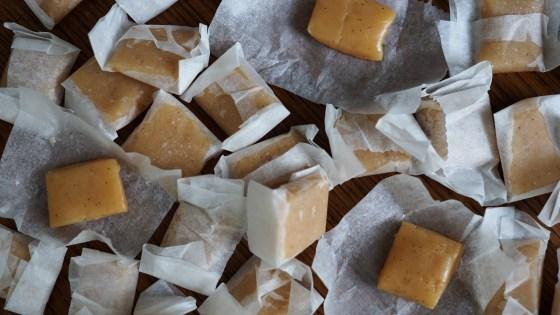 gezouten karamels