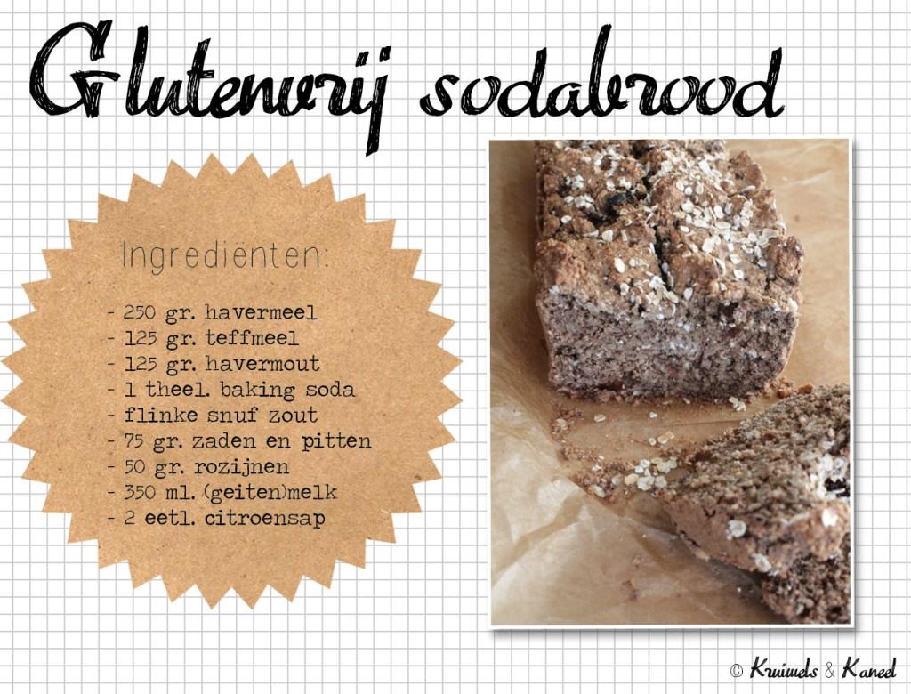 glutenvrij sodabrood