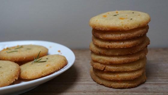 rozemarijn sinaasappelkoekjes