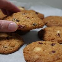 Cranberrykoekjes (illustratie)