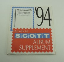 Scott Stamp Album Pages - Year of Clean Water