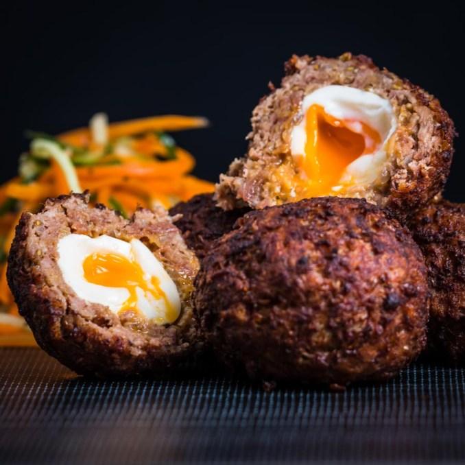 Indian Scotch Egg or Nargisi Kebab | Krumpli