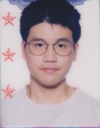 old passport photo