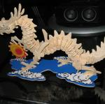3d jigsaw dragon