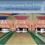 bowling dental insurance ad