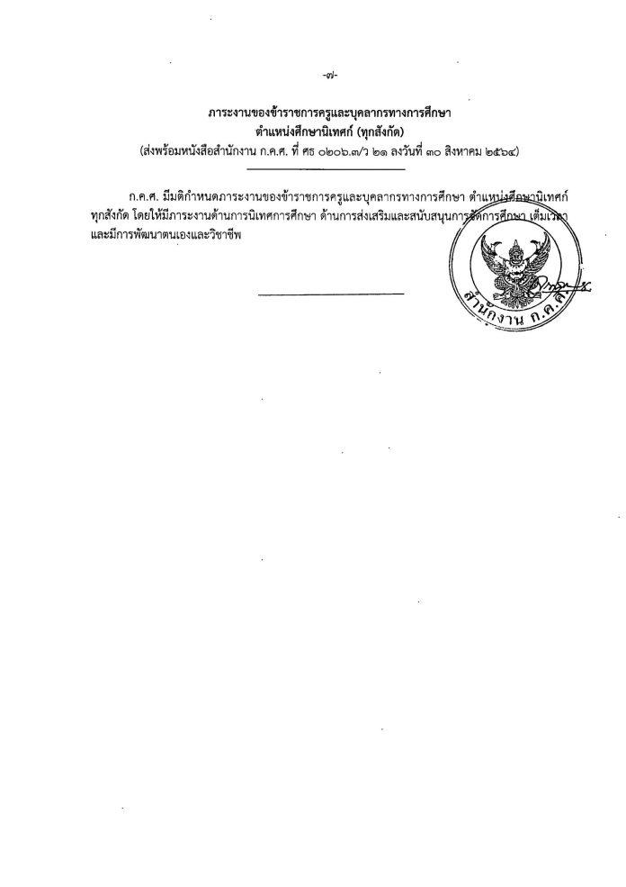 ว21-2564-page-008 ประกาศภาระงาน ของข้าราชการครูและ บุคลากรทางการศึกษา