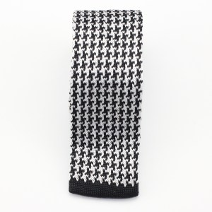 Kruwear Herringbone narrow knitted neck tie necktie tie