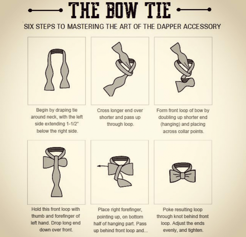 How to tie a self-tie tie
